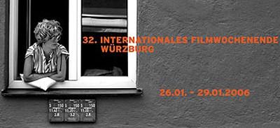 Plakat Internationales Filmwochenende Würzburg 2006
