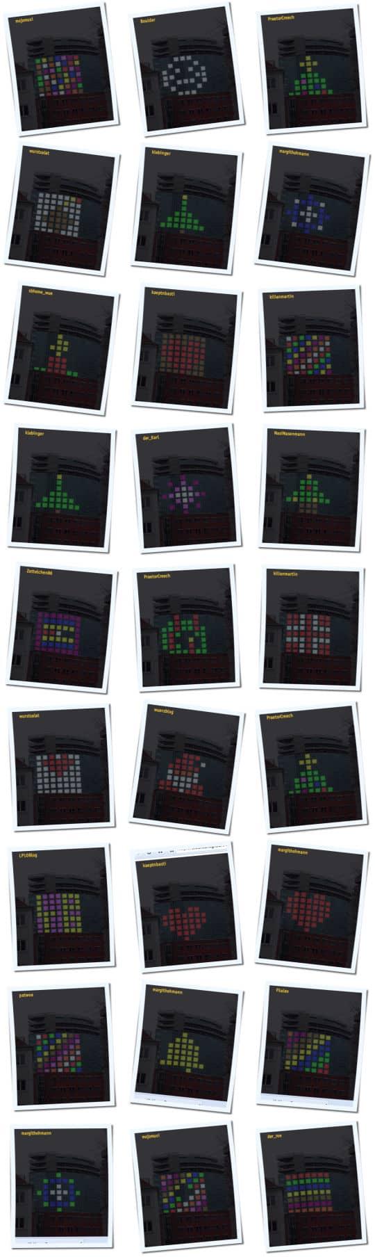 Hotelturm-Weihnachts-Collage