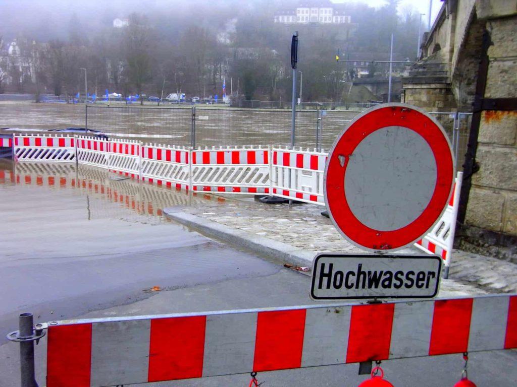 Hochwasser - ein kleines.