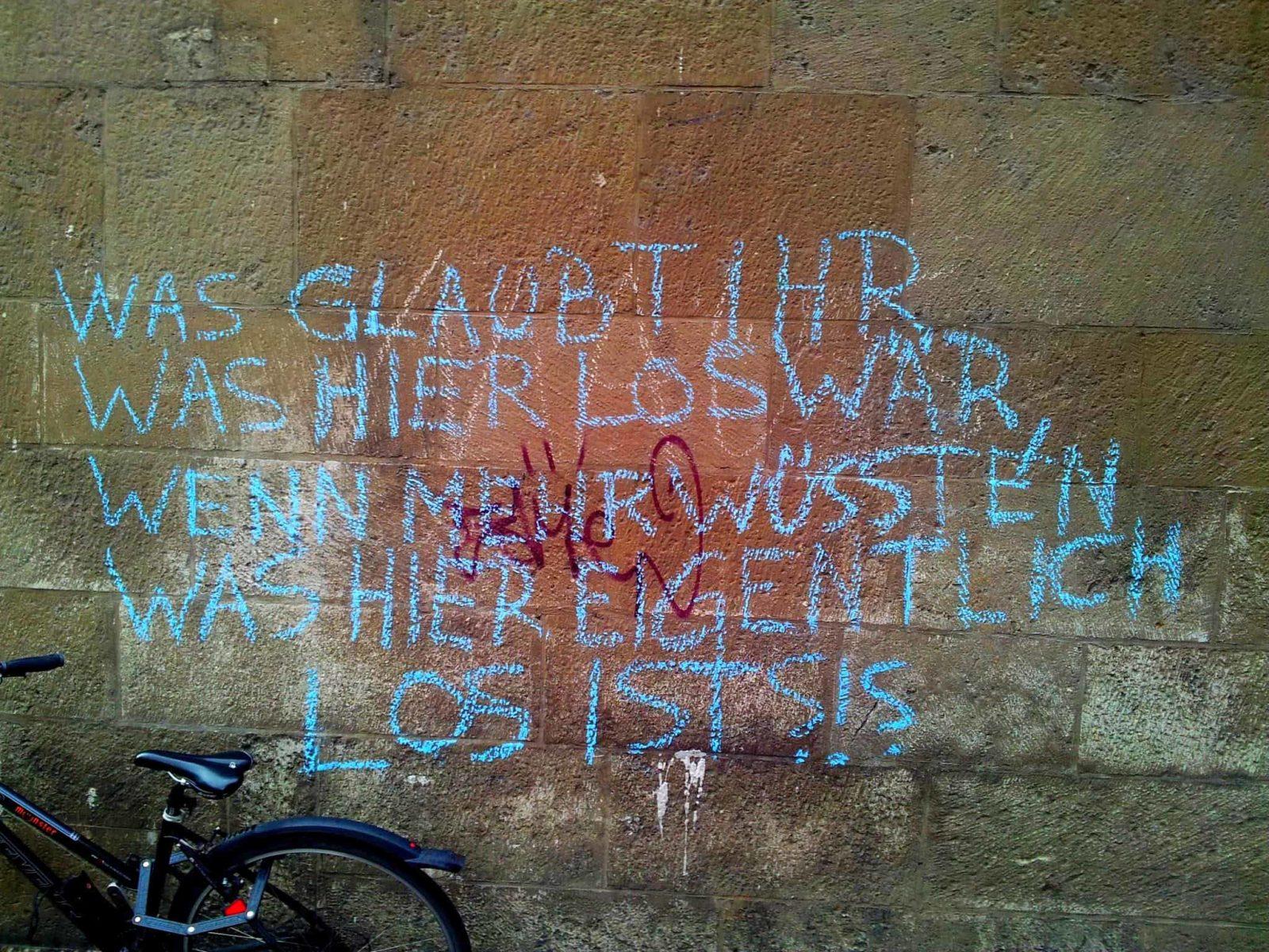 Rathaus-Graffiti