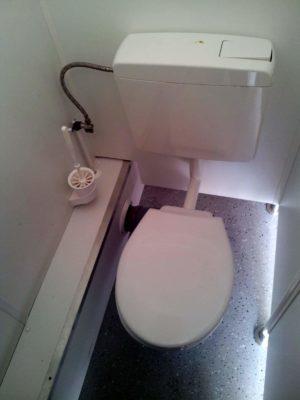 Saubere Toiletten auf dem U&D