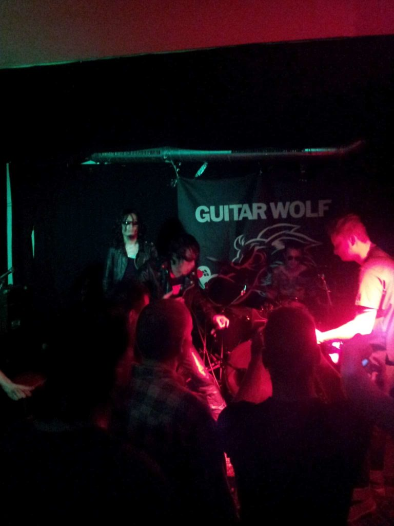 Guitar Wolf im Immerhin