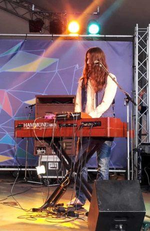Eine Hammond-Orgel! Ich liebe sie!