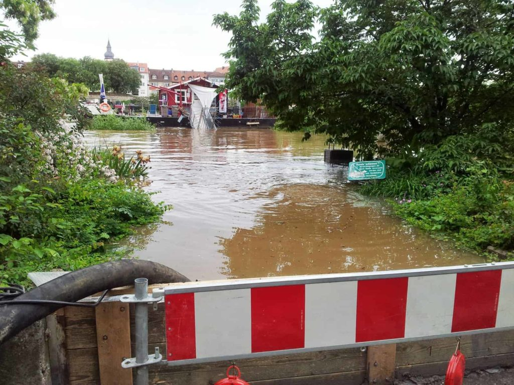 Hochwasser 2013 in Würzburg