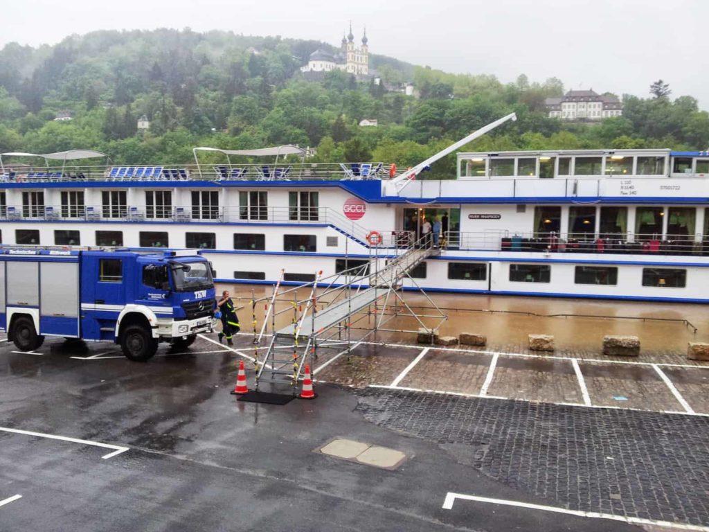 Hochwasser am Main in Würzburg, 1. Juni 2013