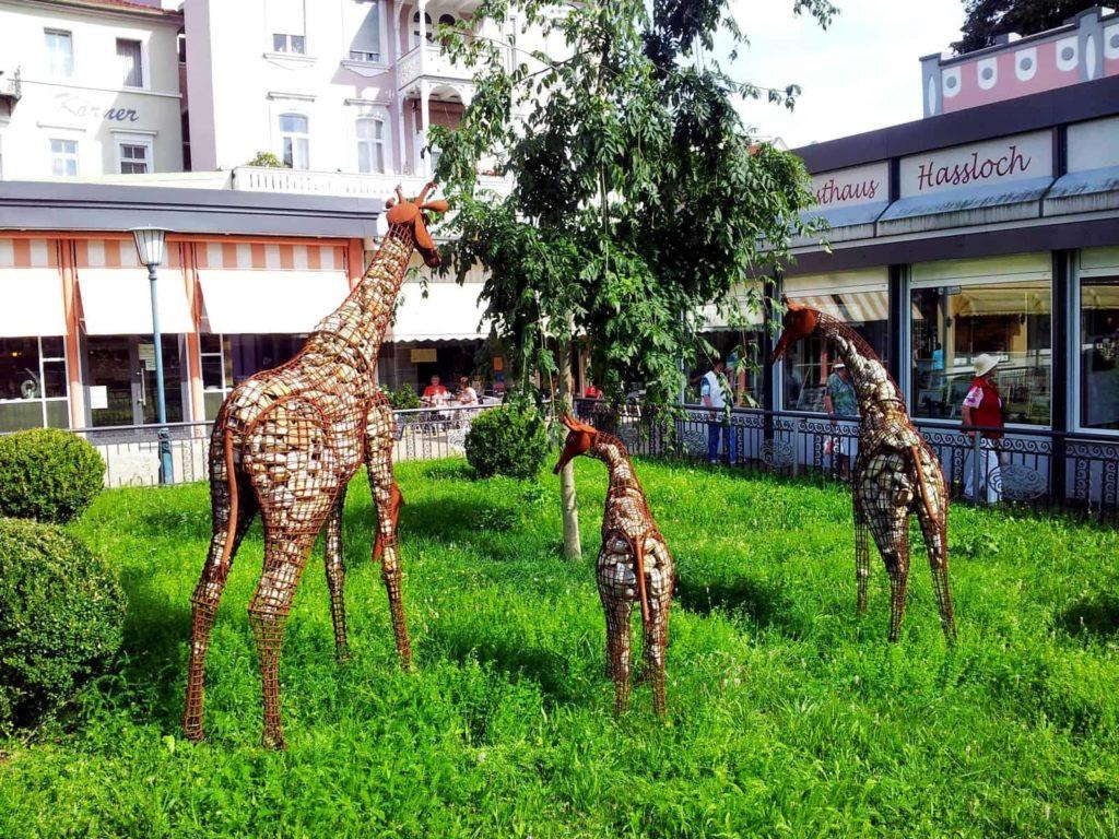 Gitter-Giraffen