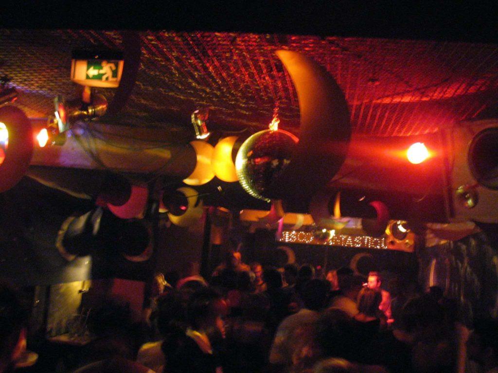 Disco Fantastique im Keller des Standard