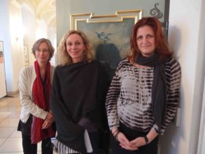 Irseer-Pegasus-Preisträgerinnen 2014: Ulrike Schäfer, Birgit Kreipe und Gertraud Klemm