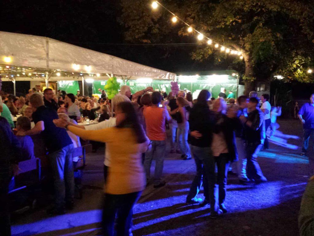 Weinfest in Grombühl
