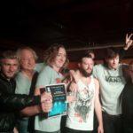 Die Black Suit Pilots beim Band des Jahres-Wettbewerb