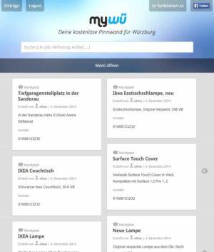Screenshot mywue.de