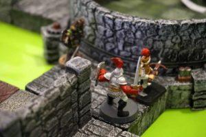 Meine Ritter treffen auf Dillons Elfen -- und es ging nicht gut aus für mich.