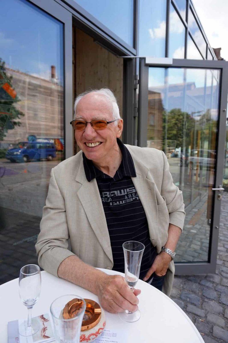 Architekt im Ruhestand und aktiver Maler: Walter Braun