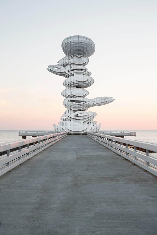 Pier Skulptur, J. Mayer H.; Lazika, Georgien. Foto: Marcus Buck