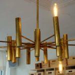 Lampe mit Stäben