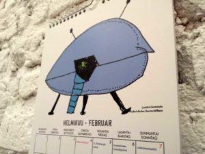 Fin-Ger-Kalender von der Architektur-Akademie für Kinder