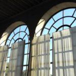 Die Fenster der Orangerie