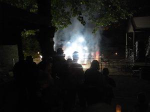Feuerwerk beim Grombühler Weinfest
