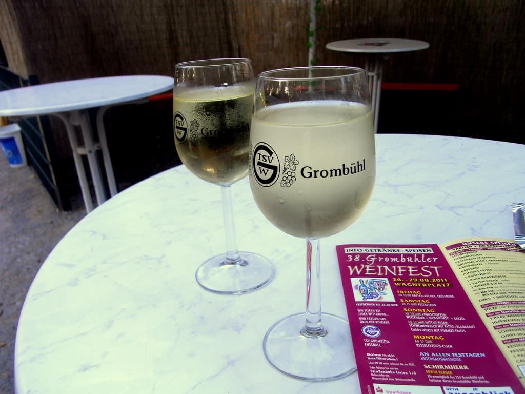 Weinfest Grombühl