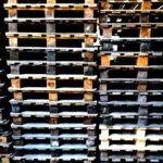 Paletten der Sektkellerei Höfer