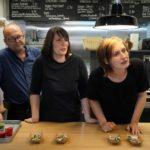 Die Drei von der Straßenküche - Papa Hilpert, Chefin Simone Hilpert und Aushilfe Michaela.