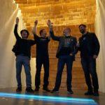 Das Fin-Ger-Team mit dem finnische Architekt  Anssi Lassila (zweiter von rechts)
