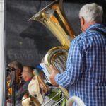 Ein unbekanntes Blasorchester.