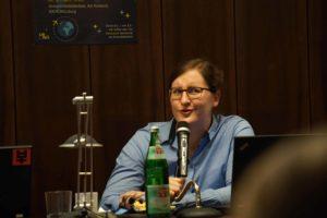 """Bergita Ganse, Weltraummedizinerin und Autorin von """"Das kleine Handbuch für angehende Raumfahrer"""""""