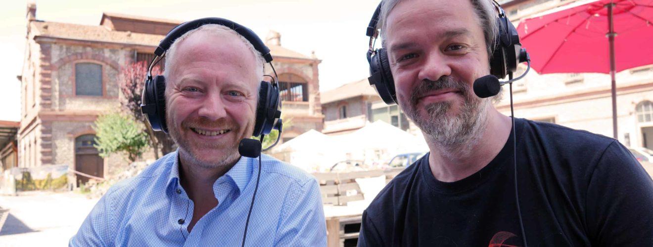 WuePod18: Simon Klingenmaier und Ralf Thees